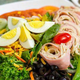 Variety of Salad Choices