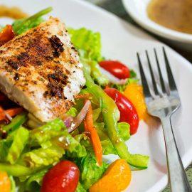 Fried Grouper Salad
